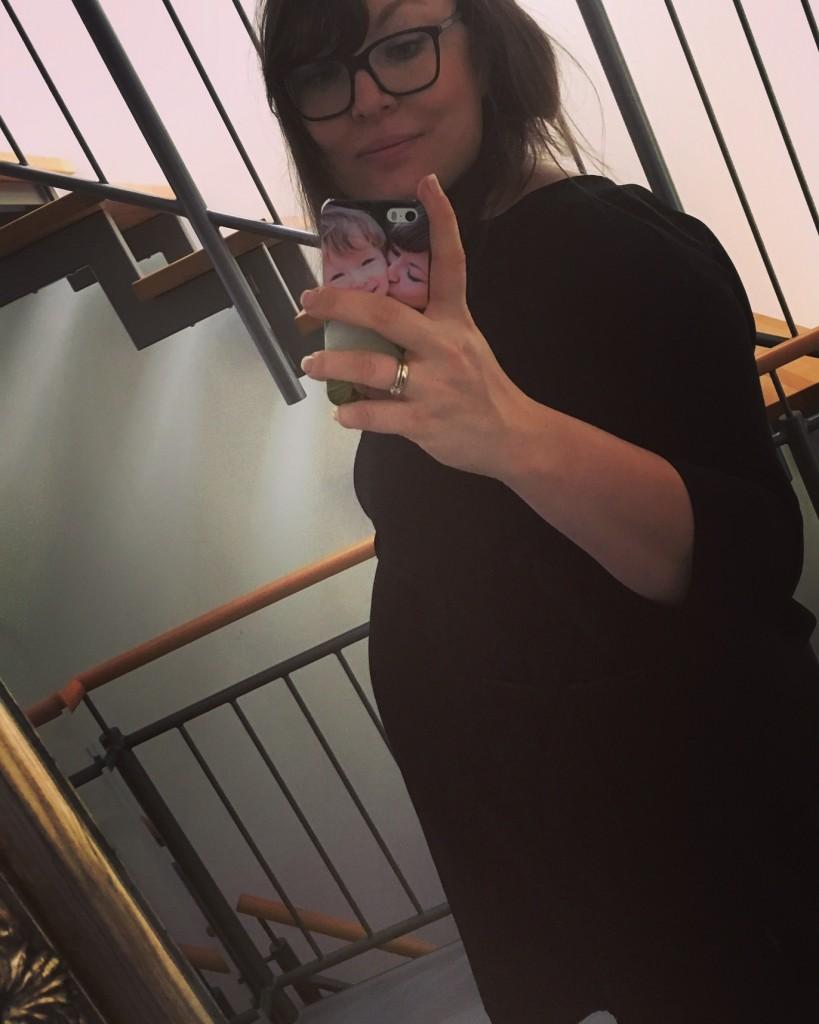 fühle mich nicht mehr schwanger