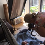Unser Newborn-Shooting und unsere Geburtskarten (von Sendmoments)